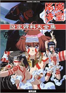 Nankai Kiko Neoranga Settei Shiryo Daizenshu (南海奇皇~ネオランガ~ 設定資料大全集)