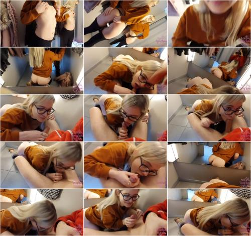 LovlyLuna - Blow job bei H & M [FullHD 1080P]