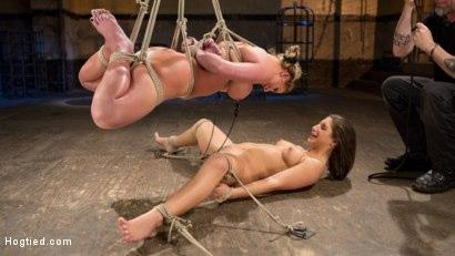 Kink.com- Phoenix Marie and Abella Danger Helpless in Bondage_Tormented and Made to Cum!!