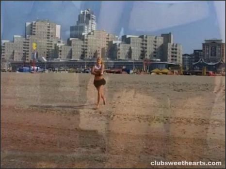 Clubseventeen.com- Dika shows her tits at the seaside
