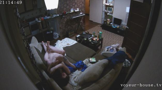 Voyeur-house.tv- Mika layne nice fuck in living room