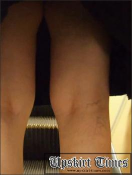 Upskirt-times.com- Ut_0086# Nice mommy in a black skirt and green panties. She didn_t see me and I took...