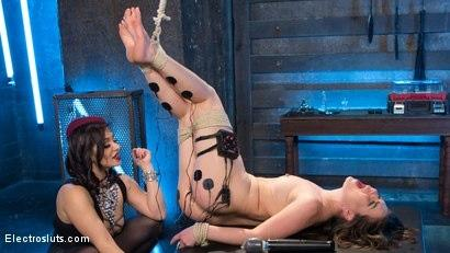 Kink.com- Scared Slut Tormented and Fucked with Electricity