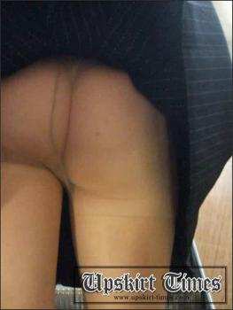 Upskirt-times.com- Ut_0147# A skinny fem in a short black skirt. It was late_there were few people over...