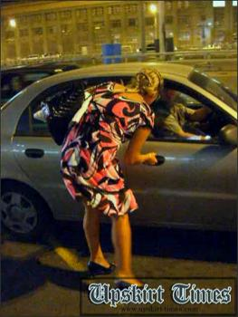 Upskirt-times.com- Ut_0219# A tanned sexy blond in a light dress! I followed her and then upskirted her,...