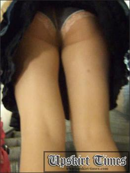 Upskirt-times.com- Ut_0254# A cute girl in a short skirt.  I didn_t expect that I could follow her_but I...