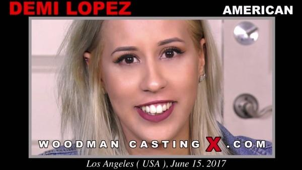 WoodmanCastingx.com- Demi Lopez casting X