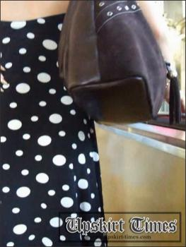 Upskirt-times.com- Ut_0390# It was a seductive blond in polka dot dress! This time I was unlucky with the...