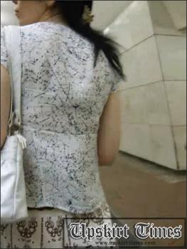 Upskirt-times.com- Ut_0431# I saw a nice fem in a white skirt. The draught helped me a lot_so I shot her...