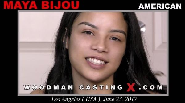 WoodmanCastingx.com- Maya Bijou casting X