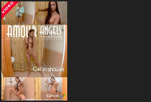 Amourangels.com- GIRL IN SHOWER VIDEO