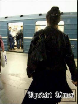 Upskirt-times.com- Ut_0545# Nice corpulent chick in black skirt! I traveled with her to the next station...