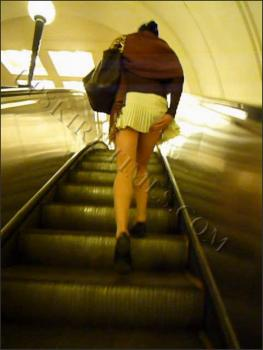 Upskirt-times.com- Ut_0655# I saw a slim kitten in white short skirt! I saw also her cool butt_when she...