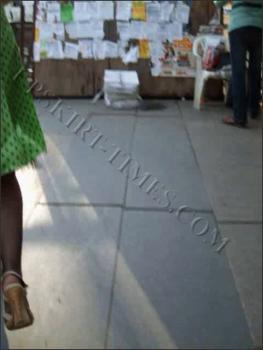 Upskirt-times.com- Ut_0679# It was a splendid blond in green polka dot dress. She was in hurry_so I had...
