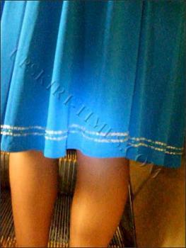 Upskirt-times.com- Ut_0699# I saw devilish seductive lady in a wide blue dress and lost my mind! I was a...