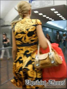Upskirt-times.com- Ut_0720# I saw a new object for my hunt! It was tanned blond in a short summer dress!...