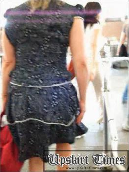 Upskirt-times.com- Ut_0725# It was a cool fem in a blue dress. She didn_t notice anything when I was...