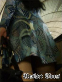 Upskirt-times.com- Ut_0801# I met cool brunette in a short dress_and I had to run after her on the...