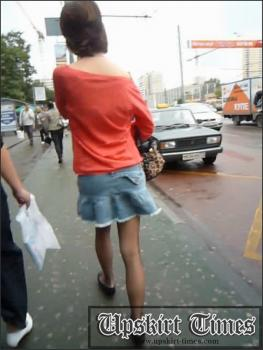 Upskirt-times.com- Ut_0834# What sexy skinny teeny in a short denim skirt! I managed to make shots of the...