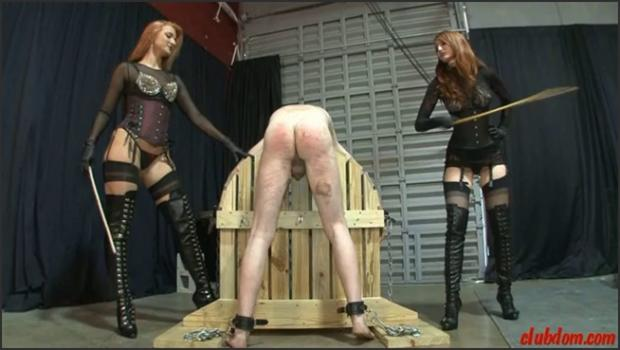Clubdom.com- Brutally Caning The Bitch
