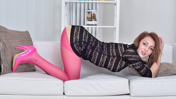 Pantyhosed4u.com- Gallery:Kate Rose - Strawberry and creamed!