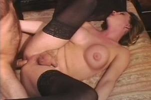Awesomeinterracial.com- Hung Blond Shemale Eszter Gets On Top And Rides The Dick