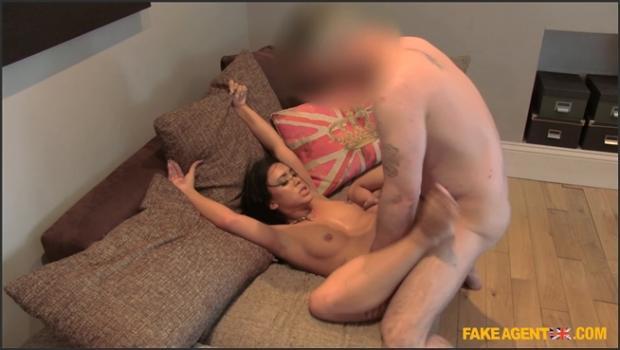 Fakehub.com- Cute Brunette Cheats On Boyfriend For A Taste Of Agent_s Cock