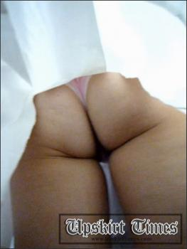 Upskirt-times.com- Ut_1174# Girl in a full white skirt! She was standing astraddle and I_ve used it to...