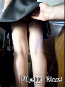Upskirt-times.com- Ut_1178# A blonde in a short black dress_suitable for girl upskirt clips! Shot her...