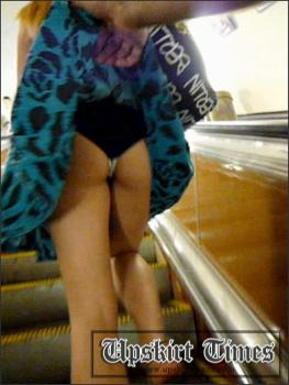 Upskirt-times.com- Ut_1186# Girl in a blue sarafan has got into my public upskirt video! She_s sensed...