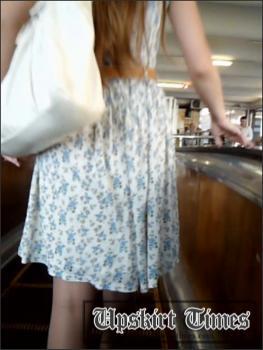 Upskirt-times.com- Ut_1198# Girl in a white dress! I_ve used the illumination again_making upskirt porn...