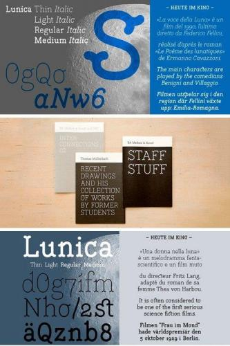 Lunica Font Family