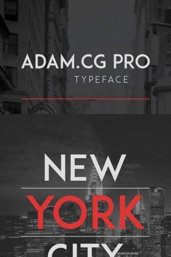 ADAM CG Pro Font