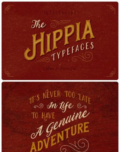 The Hippia Typefaces