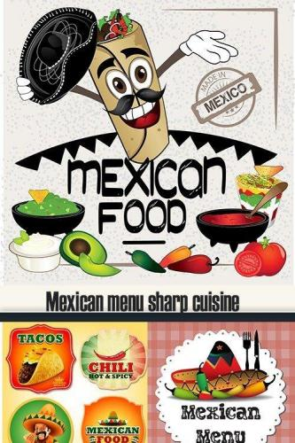 Mexican menu sharp cuisine