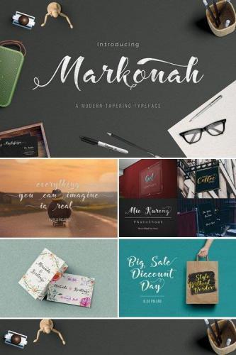 Markonah Script Font