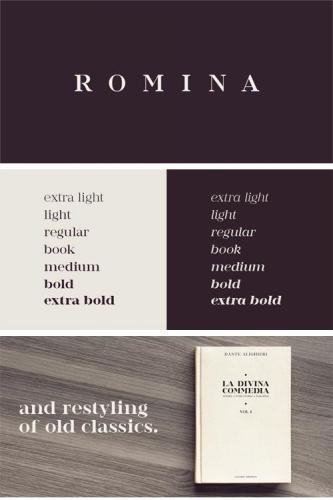 Romina Font Family