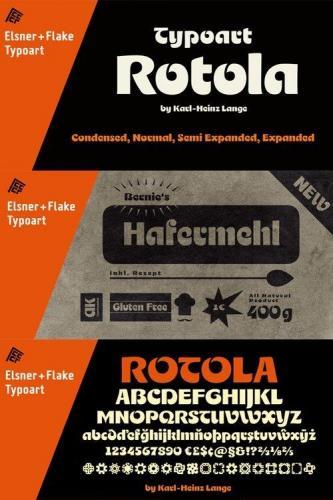 Rotola TH Pro Font Family