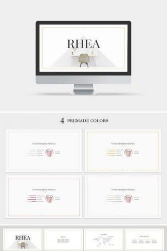 Rhea PowerPoint Template