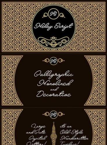 Melay Script Font