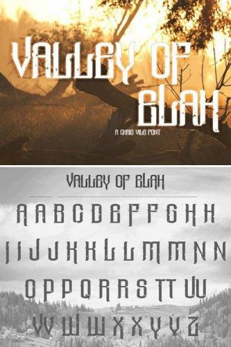 Valley Of Elah Font
