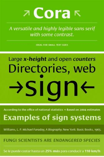 Cora Font Family