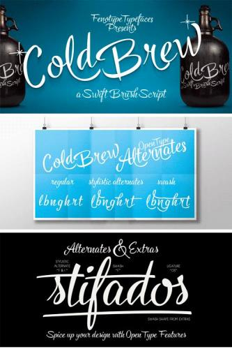 Cold Brew Font Family