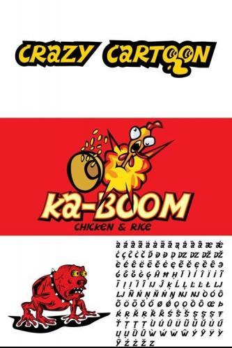 Crazy Cartoon Font