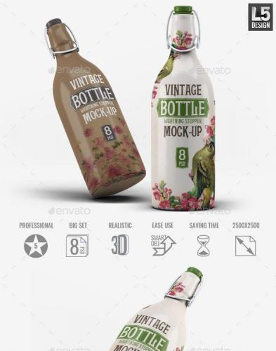 Bottle Lightning Stopper Mock-Up