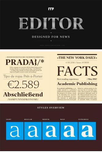 Editor Font Family