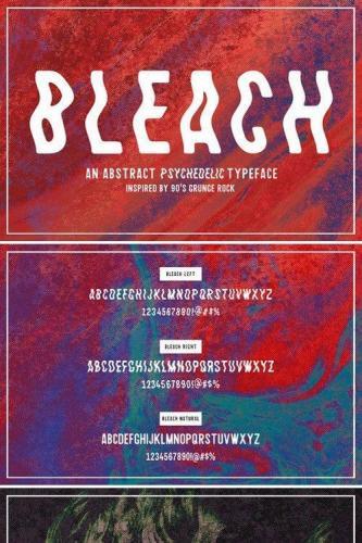 Bleach Sans Serif Font