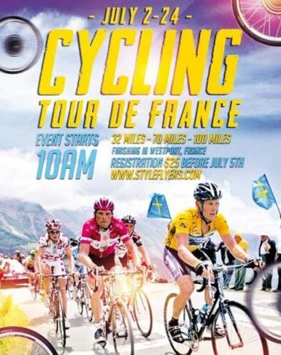 Cycling PSD Flyer Template