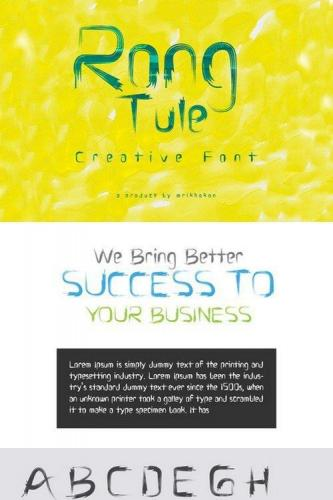 Rong Tule Font