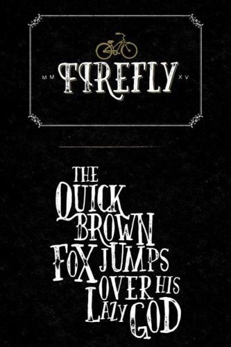 Firefly Hand Drawn Font